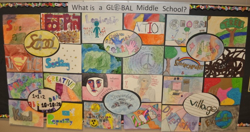 What is a Global Middle School?