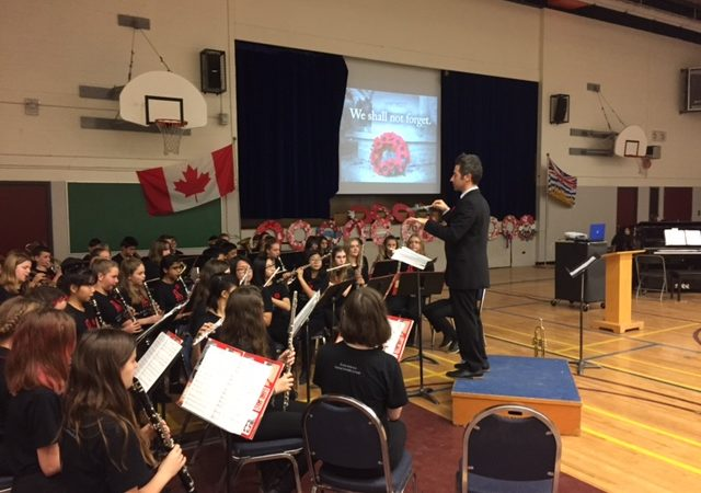Remembrance Day Ceremony 2016