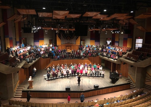 AGMS Choir at Victoria Sings at UVic