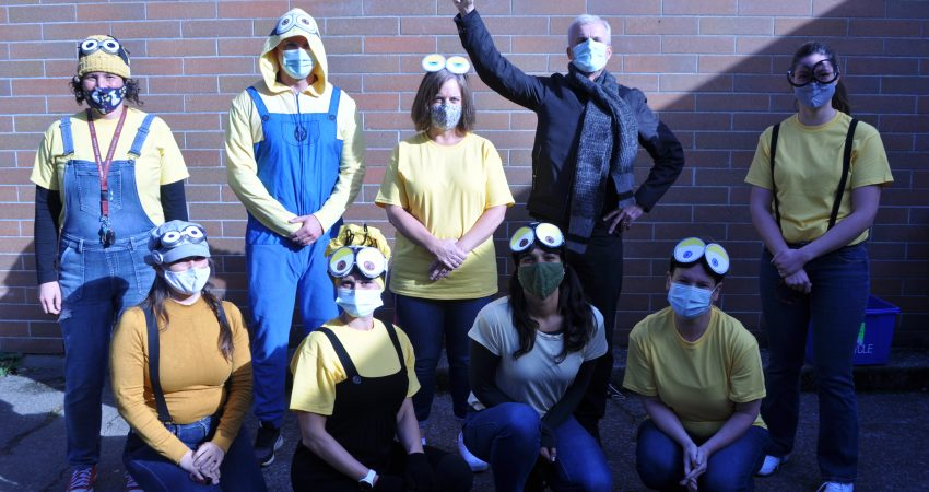 Halloween – Gru and his minions